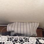 テレビ裏の配線の収納