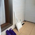 夏の大掃除★ベランダ
