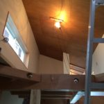 <おうち>ラワンの天井とFRPのお風呂壁